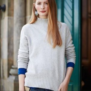 Anthro Angel of the North Aisla Pullover Small